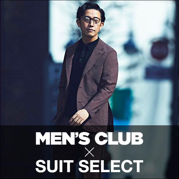 MENS'S CLUB×SUIT SELECT