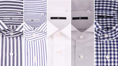 ドレスシャツ・ビジネスワイシャツの柄・生地による選び方